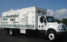 Current Austintown Dairy Truck