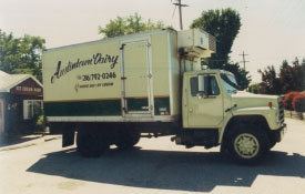 Second Austintown Dairy Truck